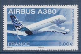 = Poste Aérienne Avion Airbus A380-  3.00€. Issu De Feuille N°PA69 - Poste Aérienne