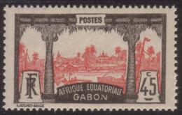 GABON 1922 YVERT 86** - MNH - Gabon (1886-1936)