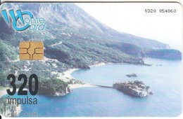 "MONTENEGRO - St. Stefan""s View, Tirage 70000, 06/02, Used - Montenegro"