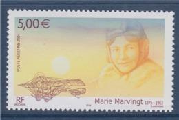 = Poste Aérienne Personnalité Hommage à Marie Marvingt Aviatrice Créatrice De L'avion Sanitaire 5.00€ N°PA67 - Poste Aérienne