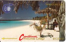 ANGUILLA(GPT) - Shoal Bay Bar(old Logo), CN : 3CAGB, Tirage 5000, Used - Anguilla