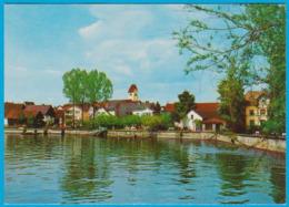 Immenstadt Am Bodensee Blick Auf Hotel Schiff Und Seesraße West Gelaufen 1985 ( AK 162 ) - Immenstadt