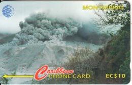 MONTSERRAT(GPT) - Tar River Valley, Montserrat Volcano 1996, CN : 124CMTA, Tirage 5000, Used - Montserrat