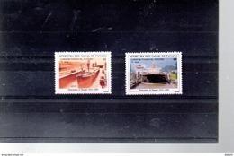 PANAMA A 542/543** SUR LE 75E ANNIVERSAIRE DU CANAL DE PANAMA - Panama