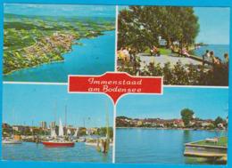 Immenstadt Am Bodensee 4 Ansichten Gelaufen 1983 ( AK 163 ) - Immenstadt