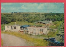 CPM   -  Cerisy  -(Somme) - Les Bungalows -( Auto , Voiture , Citroën 2 Cv , Renault 16 ) - Autres Communes