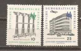 DDR Nº Yvert  528-29 (MH/*) - [6] República Democrática