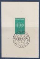 = Exposition Philatélique Europa 1959 Paris 21 Septembre 1959 Sur Fragment N°1218 - 1959
