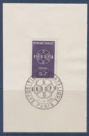 = Exposition Philatélique Europa 1959 Paris 21 Septembre 1959 Sur Fragment N°1219 - 1959