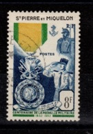 SPM - YV 347 Oblitere , Medaille Militaire Cote 15 Euros - St.Pedro Y Miquelon