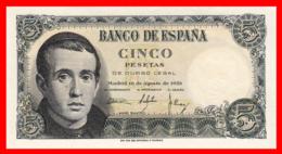 ESPAÑA BILLETE DE 5 Ptas. AÑO 1951 - [ 3] 1936-1975 : Régimen De Franco