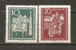 DDR Nº Yvert  451-52 (MNH/**) - [6] República Democrática