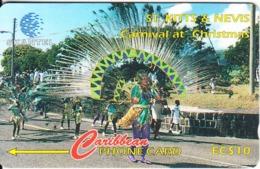 ST. KITTS & NEVIS(GPT) - Carnival At Christmas 3, CN : 16CSKA, Tirage 400, Mint - Saint Kitts & Nevis