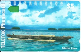 TOKELAU - Tokelau Canoe, First Trial Issue $5, Tirage 4000, Mint - Sonstige - Ozeanien
