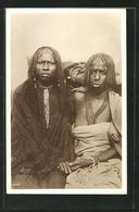 CPA Bichareens Womans, Afrikanische Volkstypen - Etnicas