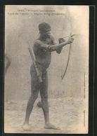 CPA Type De Bobo, Afrikanischer Jäger - Völker & Typen