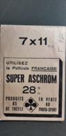 POCHETTE PHOTO PARIS RUE CAUMARTIN 75009 SUPER ASCHROM PRODUITS AS DE TREFLE - Otros