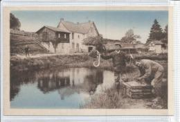 23 - Creuse - Flayat - La Ramade - Peche Aux Anguilles - Pesca