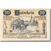 Billet, Autriche, St Leonhard, 50 Heller, Agriculteur, 1920, SPL  Mehl:FS 901a - Autriche