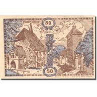 Billet, Autriche, Stefanshart, 50 Heller, Monument, 1920 SPL Mehl:FS 1013a - Autriche