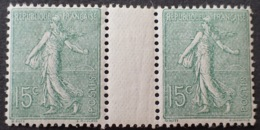 R1934/222 - 1903 - TYPE SEMEUSE LIGNEE - N°130 TIMBRES NEUFS** BON CENTRAGE - 1903-60 Semeuse Lignée