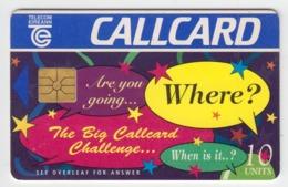 Ireland  Phonecard - Card Challenge (Chip GP1) - Ierland