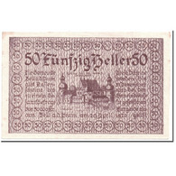 Billet, Autriche, Zell An Der Pram, 50 Heller, Paysage, 1920, 1920-04-20, SPL - Autriche