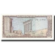 Billet, Lebanon, 1 Livre, 1964-80, KM:61c, SPL+ - Liban