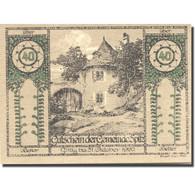 Billet, Autriche, Spitz, 40 Heller, Château 1920-09-30, SPL, Mehl:FS 1122 - Autriche