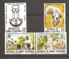 Guinea Ecuatorial  Nº Edifil  65-68 - Yvert 198-01 (MNH/**) - Guinea Ecuatorial