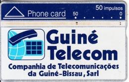 GUINEA BISSAU - Telecom Logo 50 Units, CN : 408A, Tirage 25000, Used - Guinea-Bissau