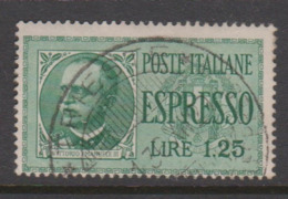 Italy E 15 1932 Special Delivery Stamp,lire 1,25 Green,used - Express Mail