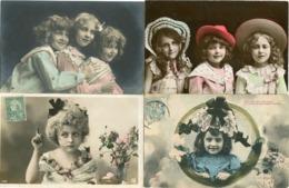 VISAGES De FILLES   - LOT De 25 CPA  ================> PORT GRATUIT (à Conditions D' Achats De 12 €) - Retratos