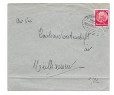 BAHNPOST STRASSBURG- MÜLHAUSEN, Zug 00213, 1942 - Alsace-Lorraine