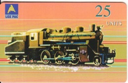 NORTH KOREA(chip) - Train, North East Asia Telecard, First Issue 25 Units, Used - Corée Du Nord