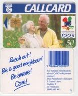 Ireland  Phonecard  Year Of Elderly -  (Chip GP1) - Ierland