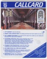 Ireland  Phonecard - Trinity 400 (SC4) Marlborough - Ierland