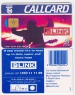 Ireland  Phonecard  Blink -  (Chip GP1) - Ierland
