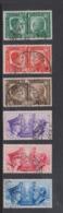 Italy S 452-457 1941 Germany Friendship,Used, - 1900-44 Vittorio Emanuele III