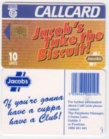 Ireland  Phonecard Jacobd Crackers -  (Chip GP1) - Ierland