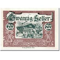 Billet, Autriche, Wald Im Pinzgau, 20 Heller, Paysage, 1920, SPL, Mehl:1129 - Autriche