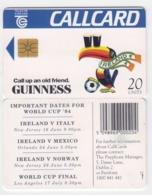 Ireland  Phonecard - Guiness World Cup '94 -  (Chip GP1) - Ierland