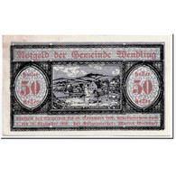 Billet, Autriche, Wendling, 50 Heller, Paysage, 1920, 1920-05-02, SPL, Mehl:1170 - Autriche