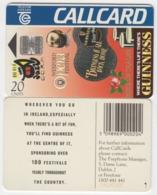 Ireland  Phonecard -  Guiness Festivals  (Chip S16) - Ierland