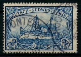 DSW Nr 21 Gestempelt Gepr. X713B22 - Kolonie: Deutsch-Südwestafrika