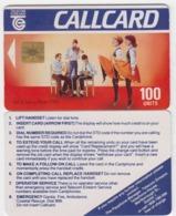 Ireland  Phonecard - Dancers (Glossy) -  (Chip GP1) - Ierland