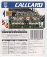 Ireland  Phonecard -  World Cup '94 -  (Chip GP1) - Ierland