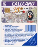 Ireland  Phonecard -  35th. Rose Of Tralee '94 -  (Chip GP1) - Ierland