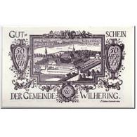Billet, Autriche, Wilhering, 50 Heller, Paysage, 1920, 1920-04-25, SPL, Mehl:FS - Autriche