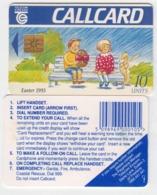 Ireland  Phonecard -  Easter  '93 -  (Chip GP1) - Ierland